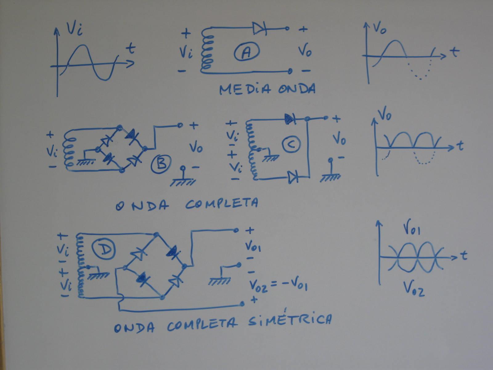 Circuito Rectificador : N diodo rectificador v a arduino raspberry